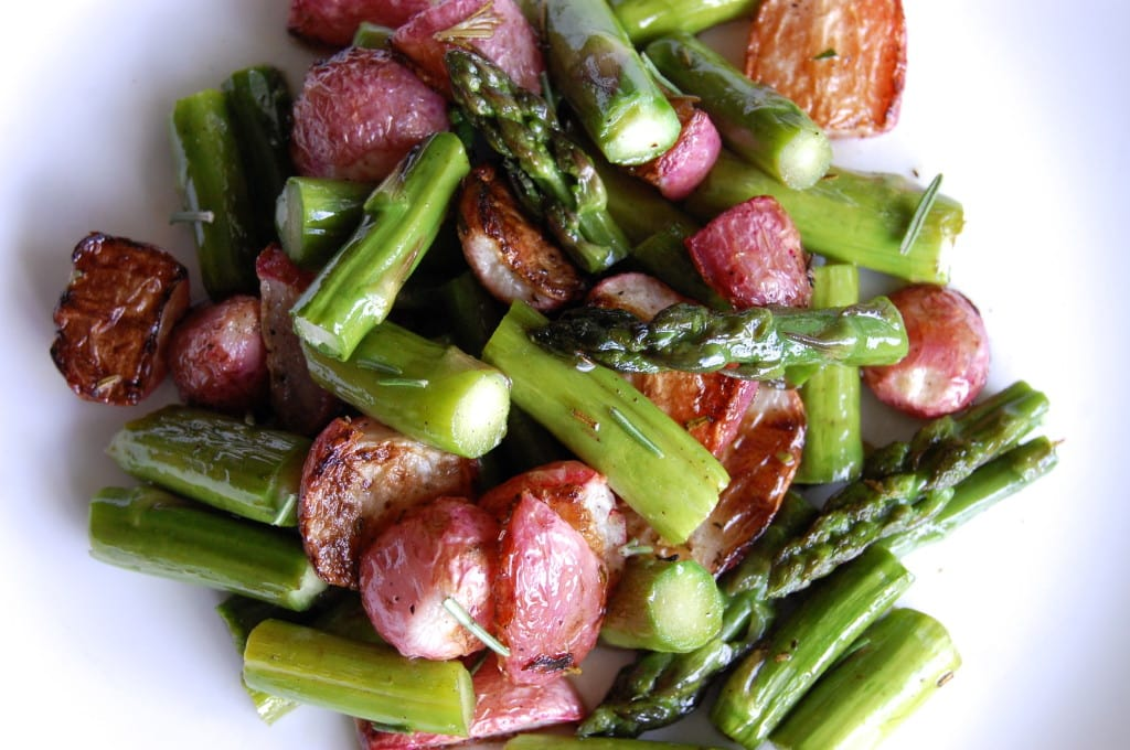 Roasted Radishes And Asparagus | Ultimate Paleo Guide