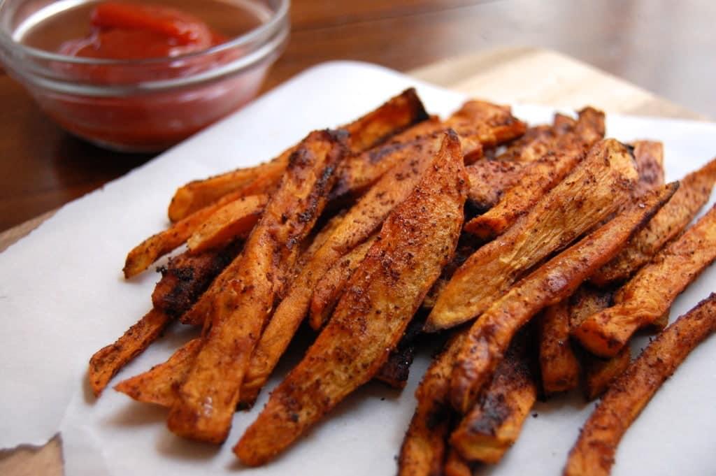 Dsc 0681 Homemade Baked Sweet Potato Fries