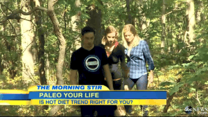 Good Morning America Explores The Paleo Lifestyle