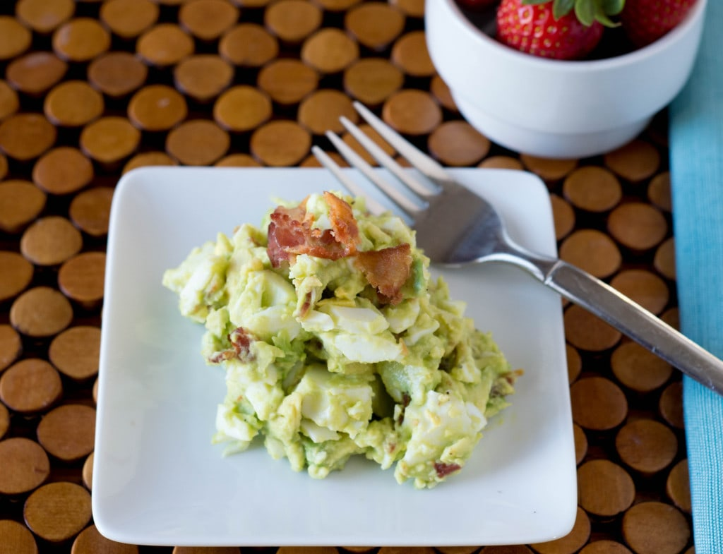 Jumpstart your day with Avocado Egg Salad for your breakfast!