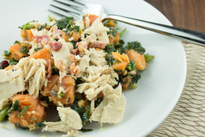 Paleo Turkey Bowl with Kale and Sweet Potatoes