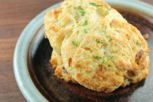 Bacon and Chive Scones