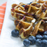 keto desserts blueberry waffles