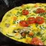 open-faced-veggie-omelet