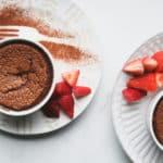 chocolate souffles