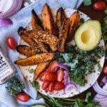 sweet potatoes on plate